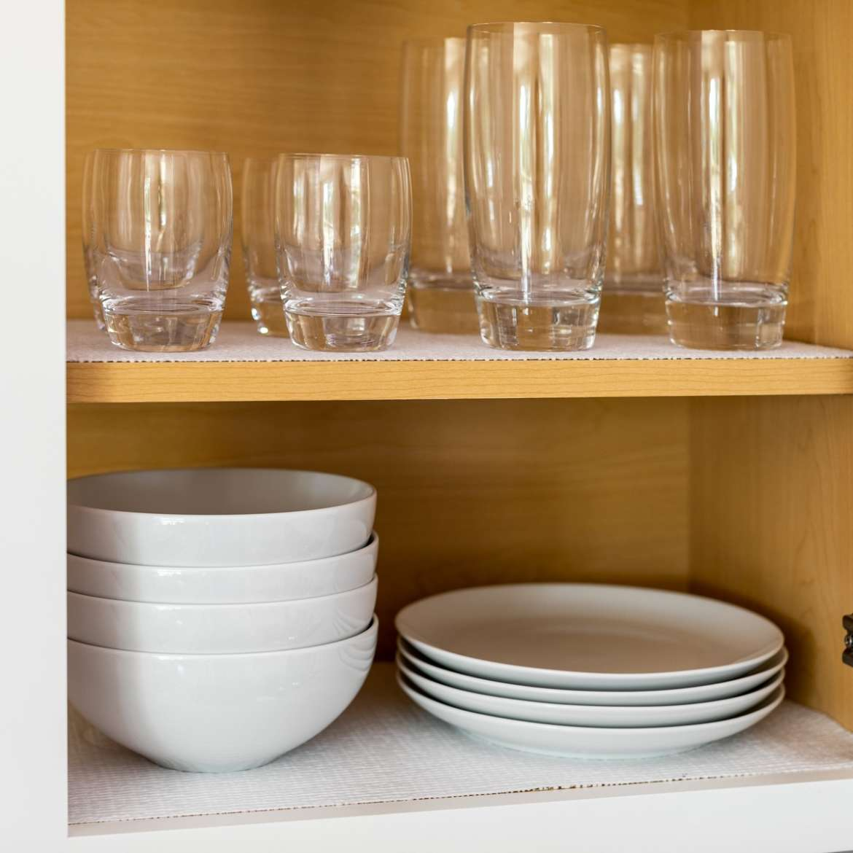 Smooth Top Easy Liner Shelf Liner White 5 Ft Duck Brand