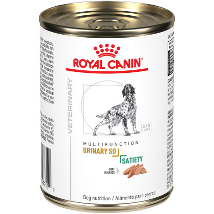 Urinary SO + Satiety Loaf in Sauce Canned Dog Food
