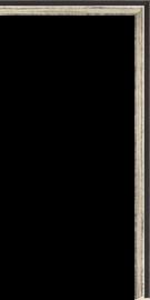 Lucerne Fillet Onyx Silver 5/16