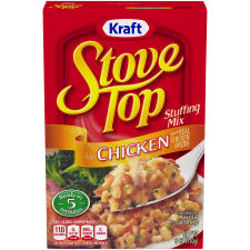 Kraft Stove Top Stuffing Mix for Chicken 6 oz Box
