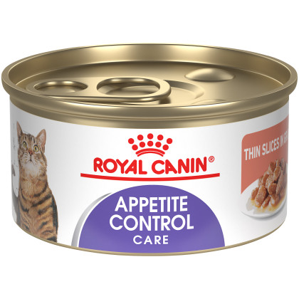 Feline Appetite Control Care Thin Slices and Gravy Canned Cat Food