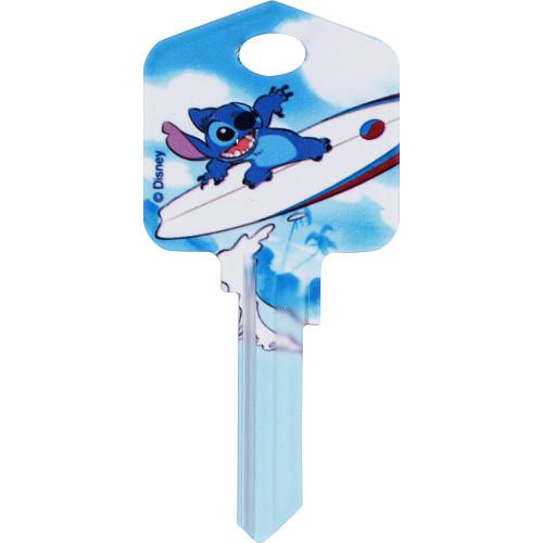 Disney Stich Surfing Key Blank Kwikset 66/97 KW1/10