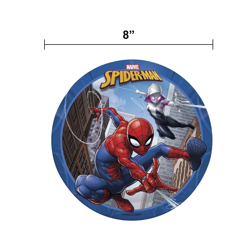 Marvel Comics Dinnerware Set, Spider-Man, 5-piece set slideshow image 4
