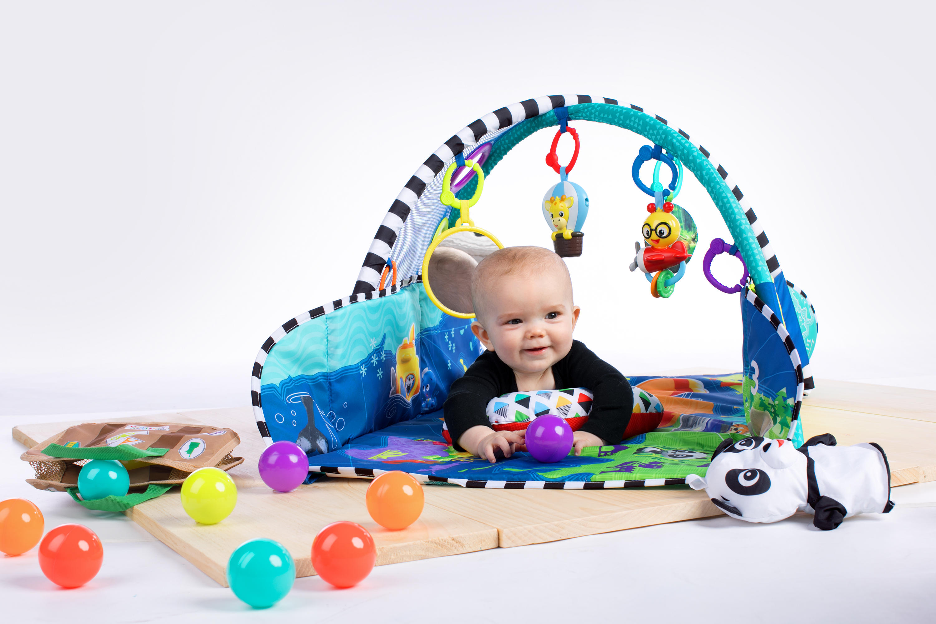 5 In 1 Journey Of Discovery Activity Gym