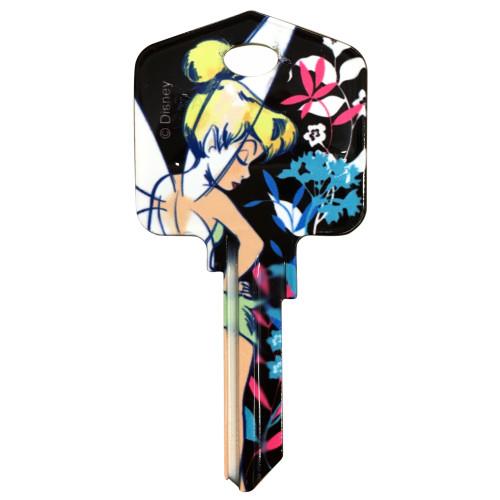 Disney Tinker Bell Key Blank Kwikset 66/97 KW1/10