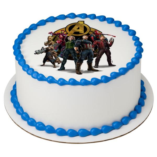 MARVEL Avengers Infinity War Heroic Edible Image®