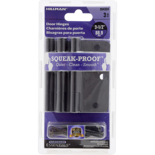 Hardware Essentials Squeak-Proof 1/4