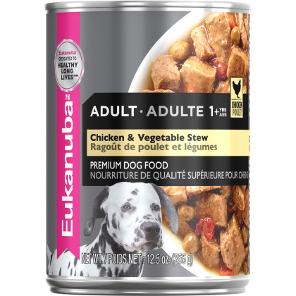 Adult Chicken & Vegetable Stew Canned Dog Food