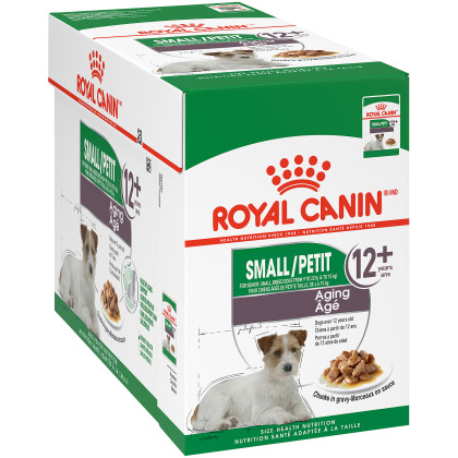 Small Aging 12+ Pouch Dog Food