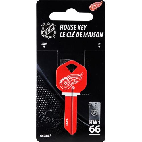 NHL Detroit Red Wings Key Blank
