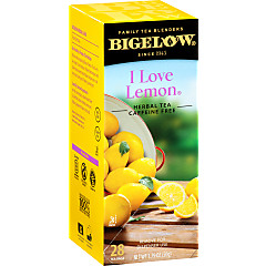 I Love Lemon Herbal Tea - Case of 6 boxes- total of 168 teabags