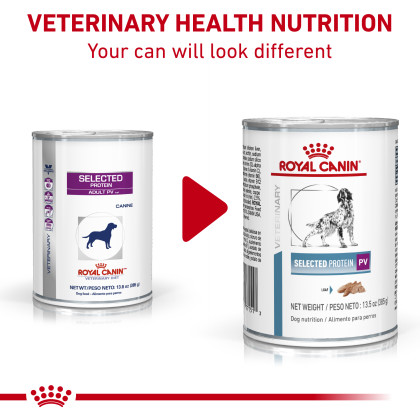 Royal Canin Veterinary Diet Canine Selected Protein PV Canned Dog Food