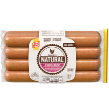 Oscar Mayer Selects Angus Bun-Length Beef Franks 14 oz Pack