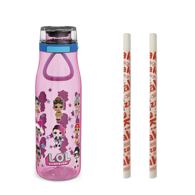 LOL Surprise 25 ounce Water Bottle, Favorite LOL Characters, 3-piece set slideshow image 1