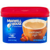 Maxwell House International Cafe Flavored Instant Coffee, Hazelnut, 9 oz Canister