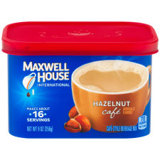 Maxwell House International Hazelnut Coffee 9 oz Canister