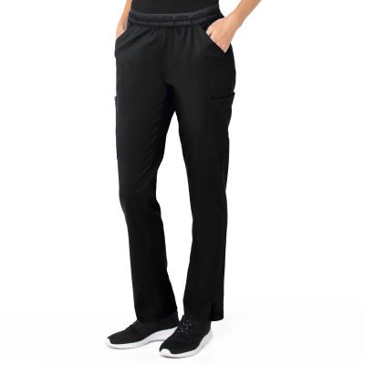 Landau ProFlex Five-Pocket Cargo Scrub Pants for Women: Modern Tailored Fit, Tapered Leg Medical Scrub Pants 2044-Landau