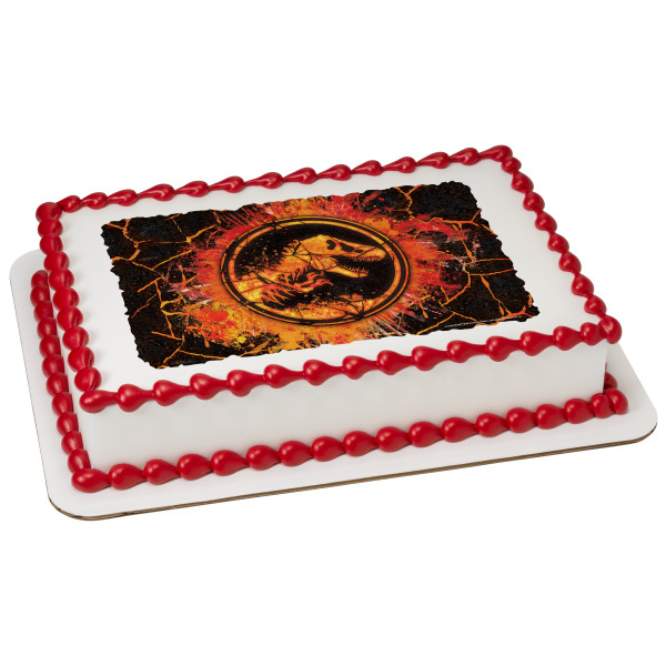 Jurassic World™ 2 Molten PhotoCake® Image