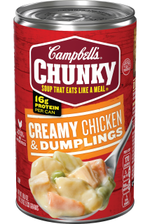 Creamy Chicken & Dumplings