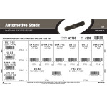 Heat-Treated Automotive Studs Assortment (SAE-USS & USS-USS)