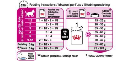 Kitten in Jelly feeding guide
