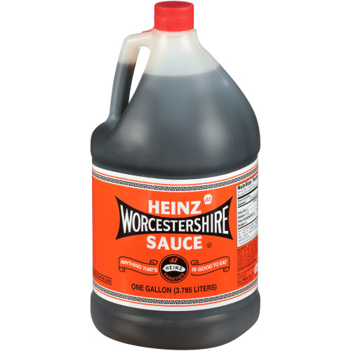 HEINZ Worcestershire Sauce, 1 gal. Jugs (Pack of 4)