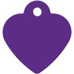 Purple Small Heart Quick-Tag