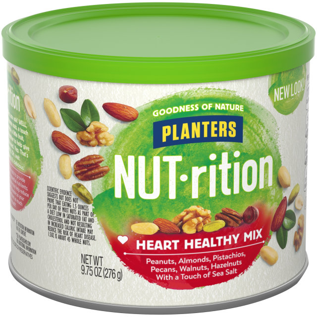 PLANTERS NUT-rition Heart Healthy Mix 9.75 oz Can