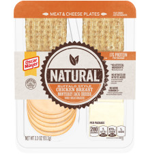Oscar Mayer Natural Buffalo Style Chicken Breast & Monterey Jack Cheese Plate, 3.3 oz Tray