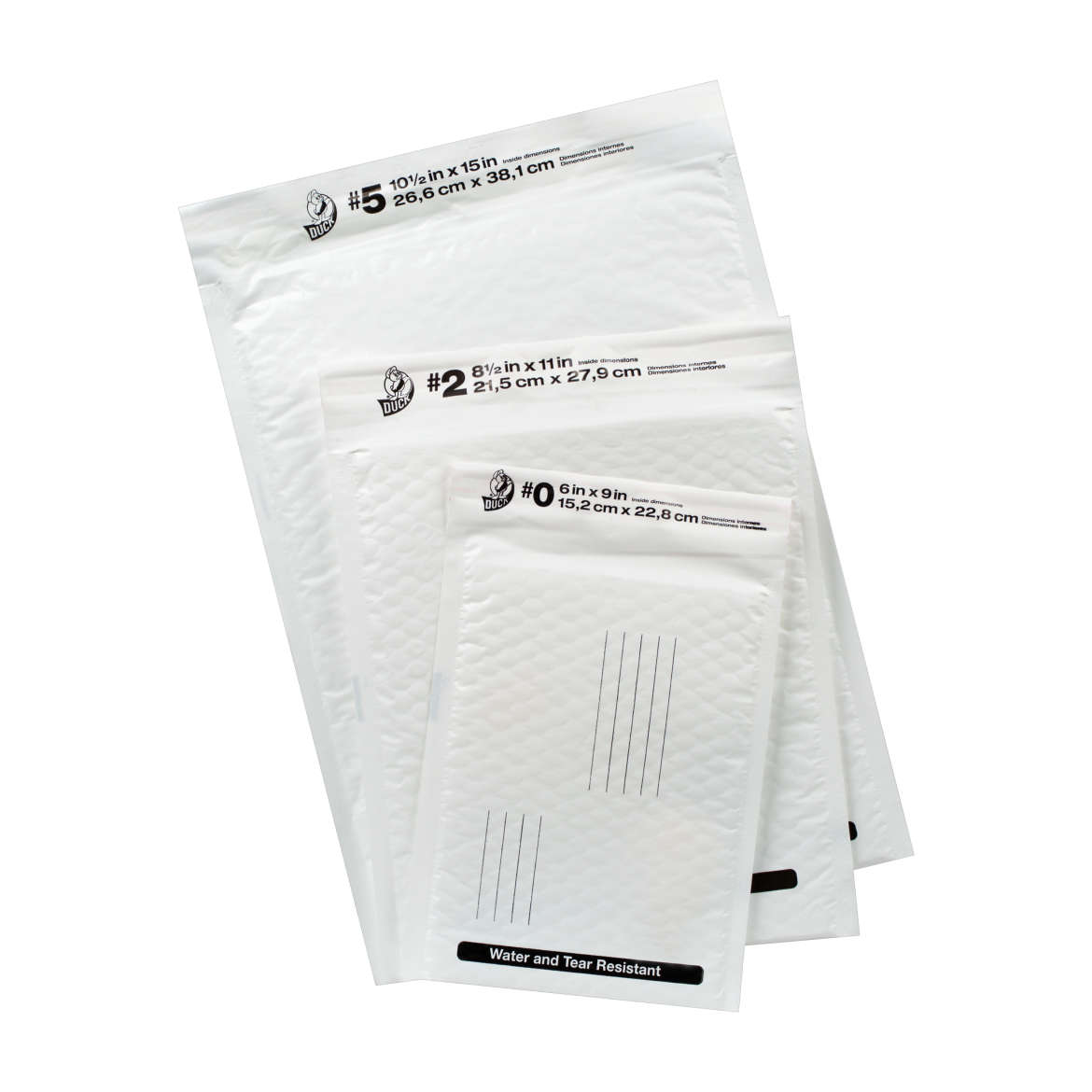 Duck® Brand Poly Bubble Mailers
