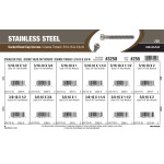 "Stainless Steel Socket-Head Cap Screws Assortment (5/16""-18 & 3/8""-16 Thread)"