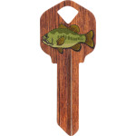 WacKey Gone Fishing Key Blank