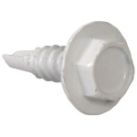 Hex Washer Head Self Drilling Screws (Painted)
