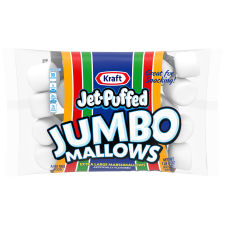 Jet-Puffed Jumbo Mallows Marshmallows, 24 oz Bag