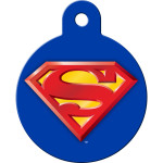 Superman Logo Large Circle Quick-Tag