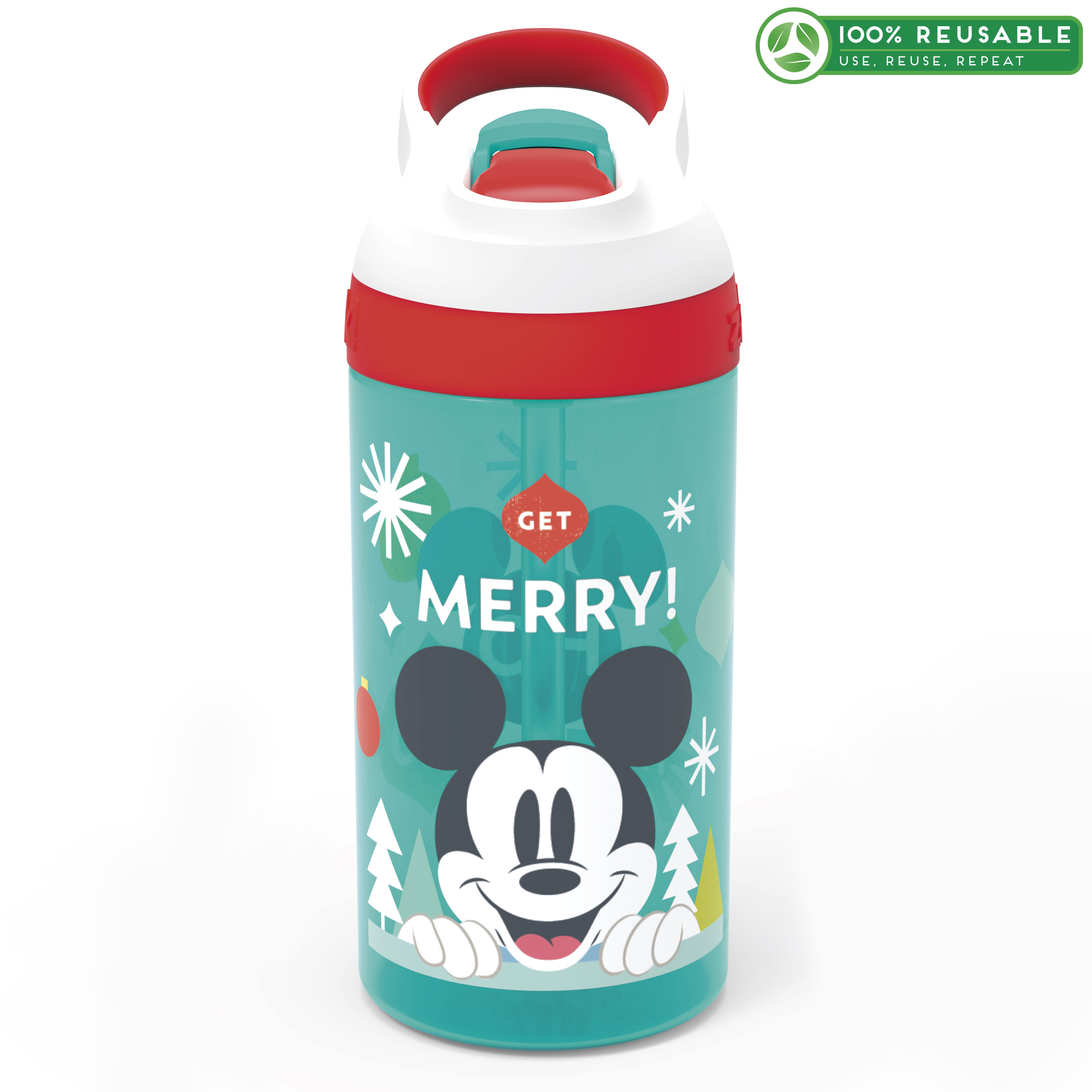 Disney 16 ounce Water Bottle, Mickey Mouse slideshow image 1