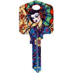 Achilles Ink - Geisha Key Blank