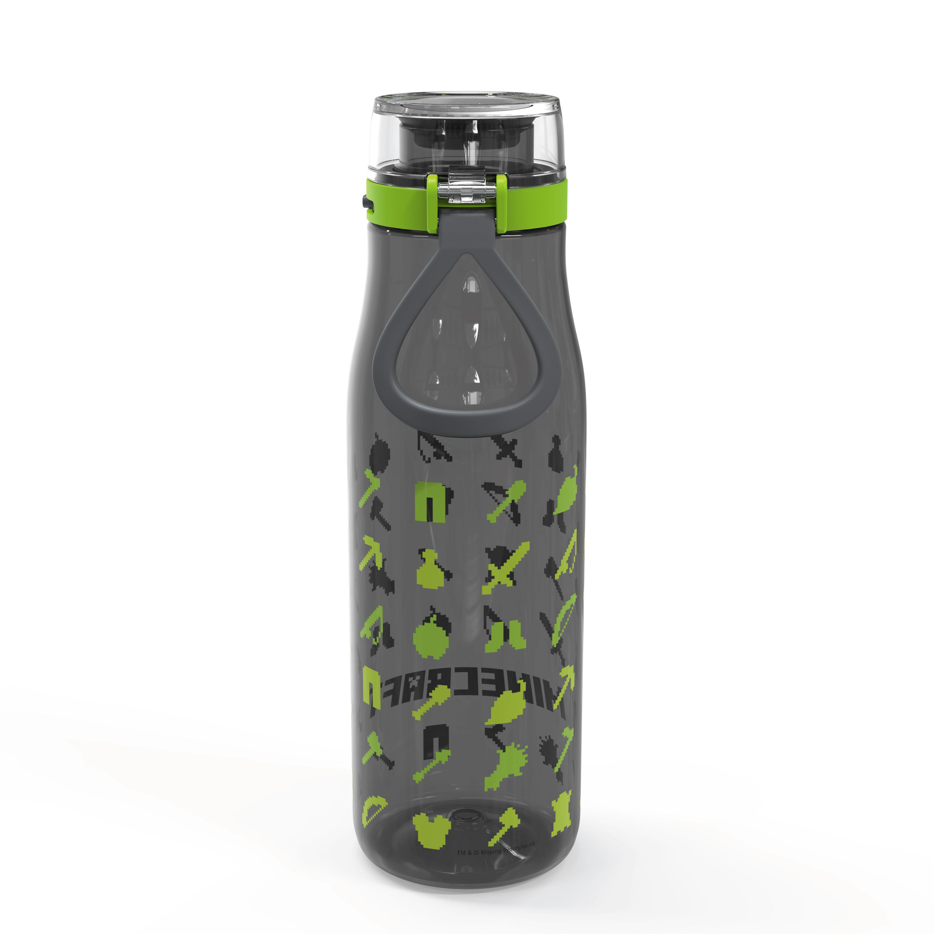 Minecraft 25 ounce Water Bottle and Straws, Weapons and Tools, 3-piece set slideshow image 4