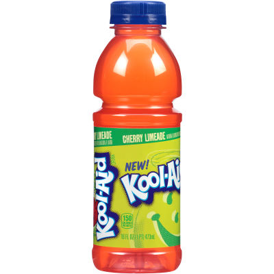 Kool-Aid Cherry Limeade Ready-to-Drink Soft Drink 12 - 16 fl oz Bottles