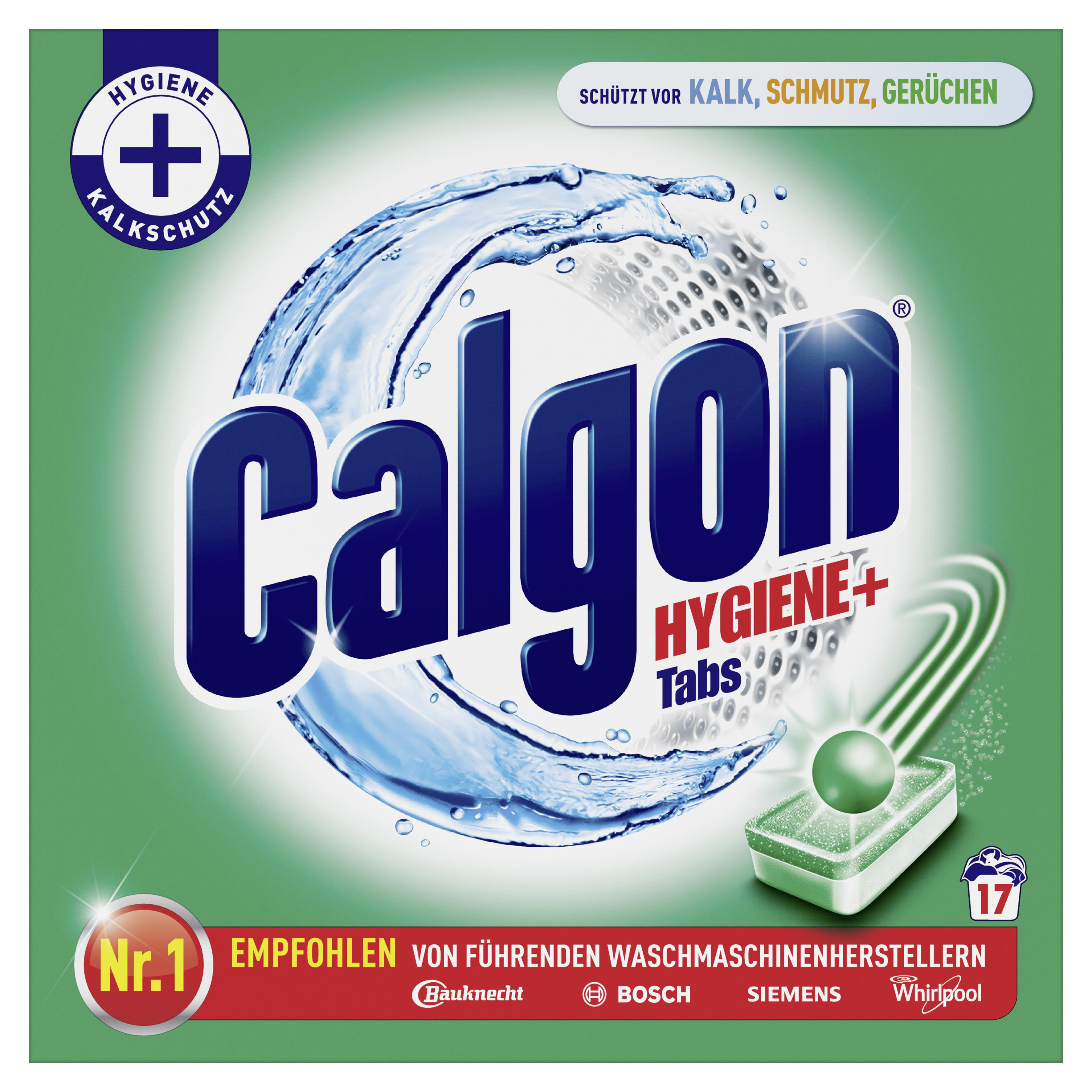 Calgon Hygiene + Tabs 17 Stück