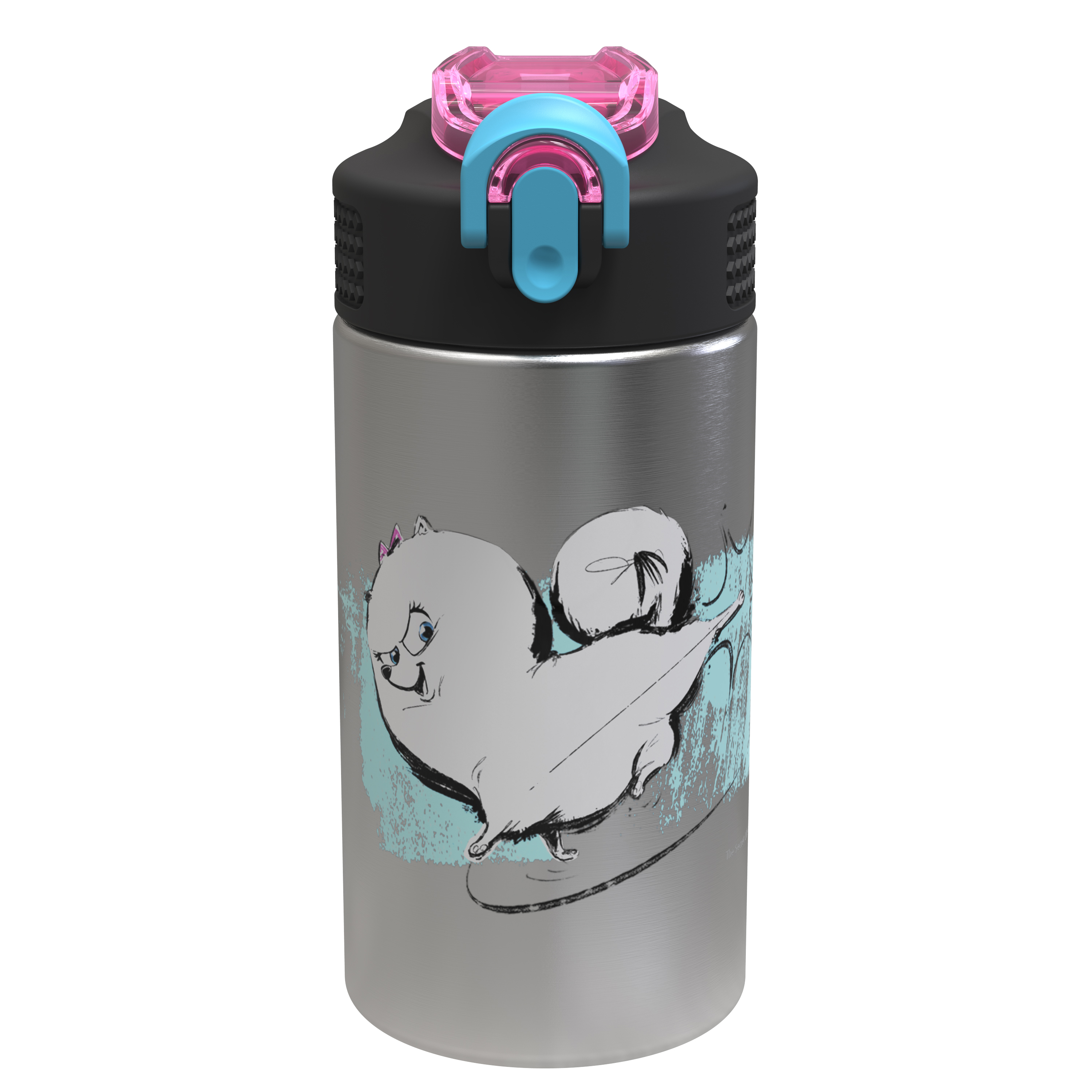 Secret Life Of Pets 2 15.5 ounce Water Bottle, Gidget slideshow image 1