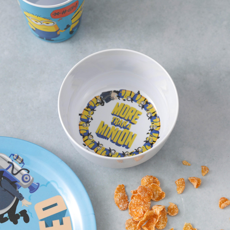 Minions 2 Movie Kid's Dinnerware Set, Minions and Felonius Gru, 3-piece set slideshow image 4