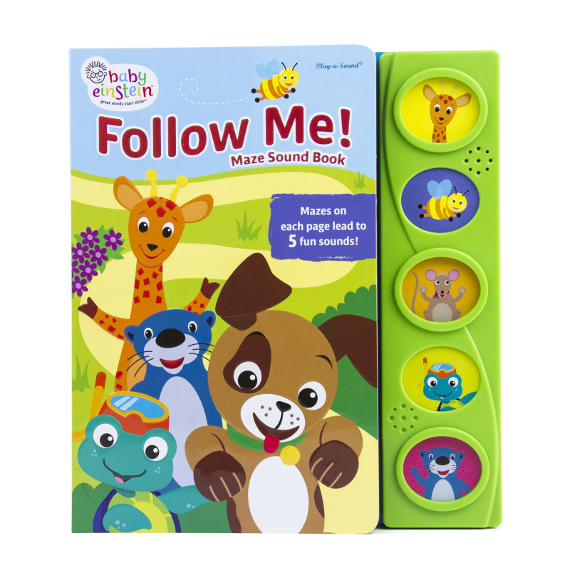 Little Maze Sound Book: Follow Me!