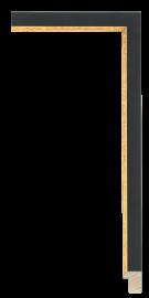 Soho Black w/Gold 7/8