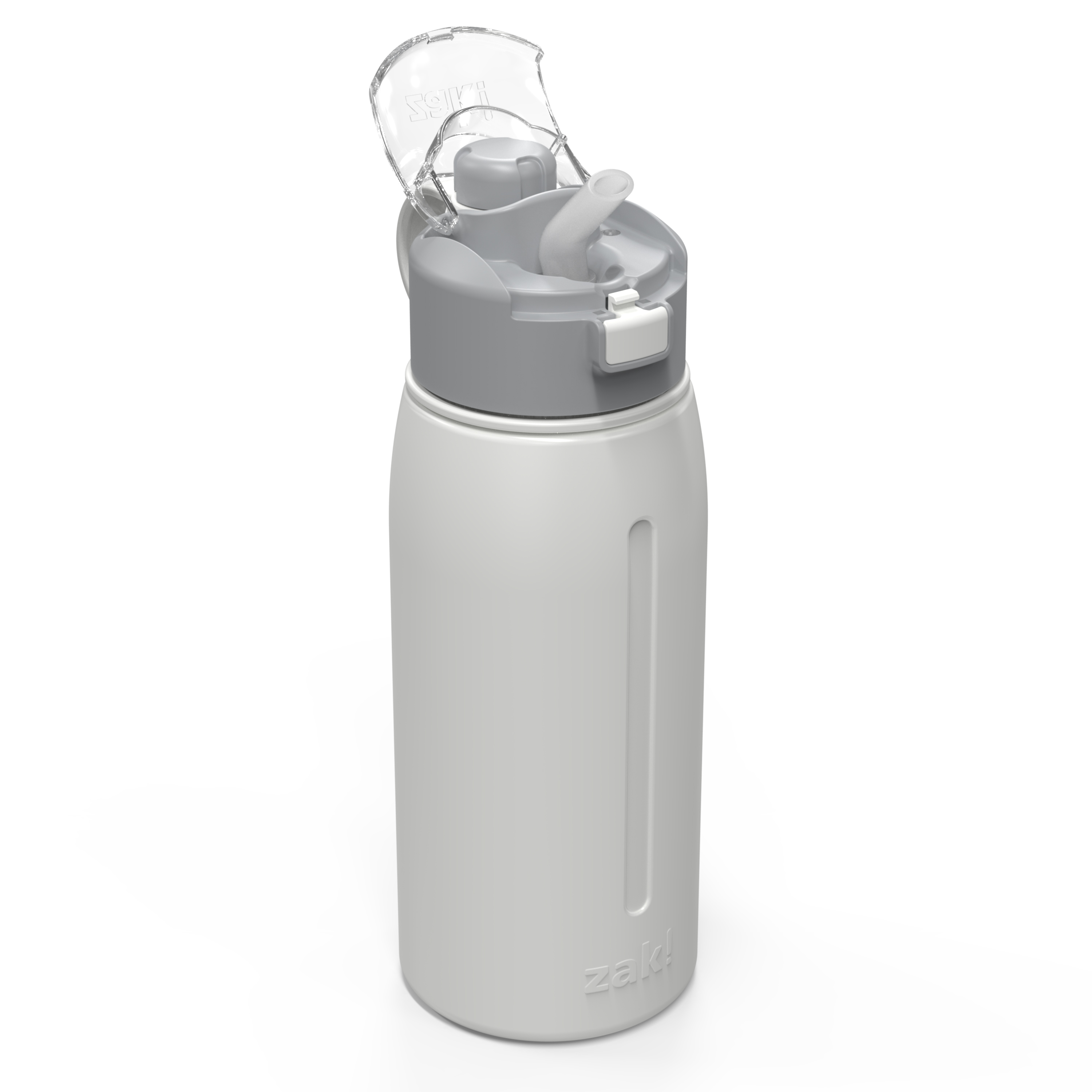 Genesis 24 ounce Vacuum Insulated Stainless Steel Tumbler, Gray slideshow image 2