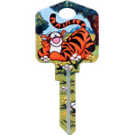 Disney Winnie the Pooh - Tigger Key Blank