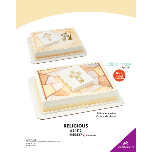 Religious DecoSet® The Magic of Cakes® Page