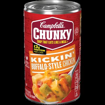 Buffalo-Style Chicken Soup