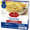 Nancy's Lorraine Swiss Cheese, Bacon, Onion and Chive Quiche 6 oz Box