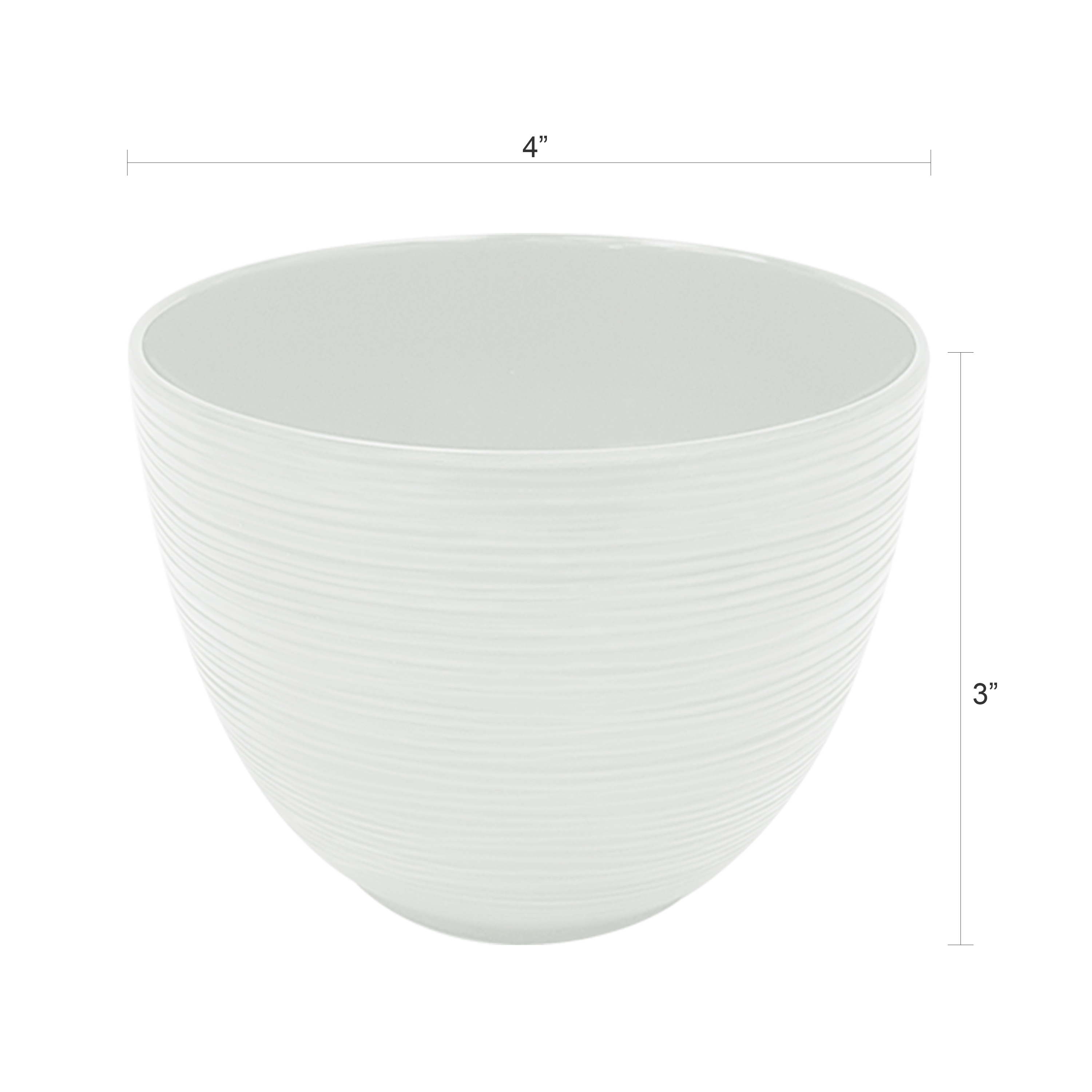 Zak Style Serving and Dip Bowls, Assorted Colors, 4-piece set slideshow image 3